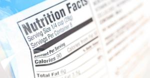 Week 6a Food Labels