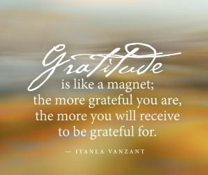 Gratitude reminder